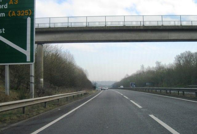 Bridge over A3