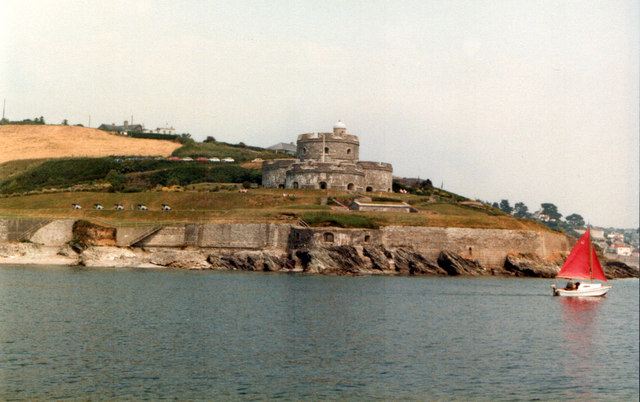 St Mawes Castle 1983