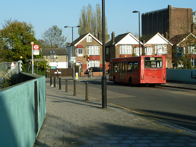 Streatham Hill Station, bus stop Q