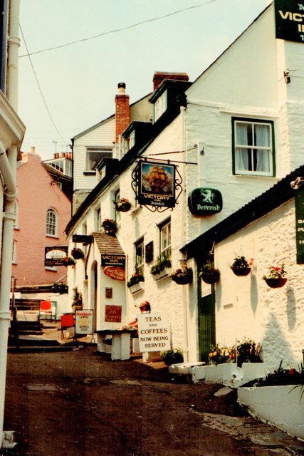 The Victory Inn St Mawes 1983