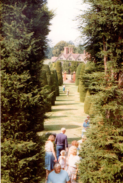 Packwood House Yew Walk 1983