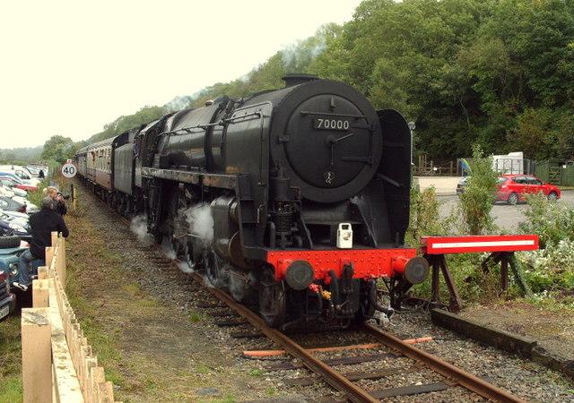 Steam Returns to Okehampton Station