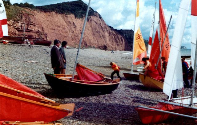 Sidmouth Beach 1981