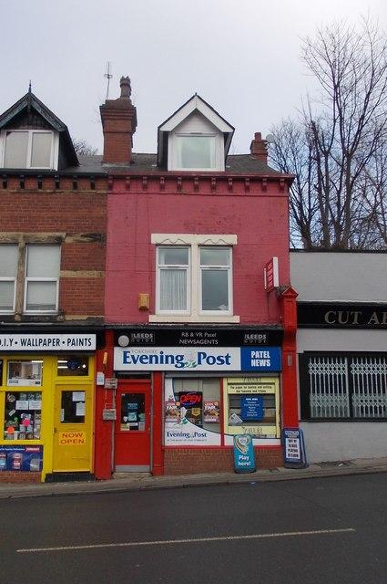 R B & V R Patel Newsagents - Burley Road