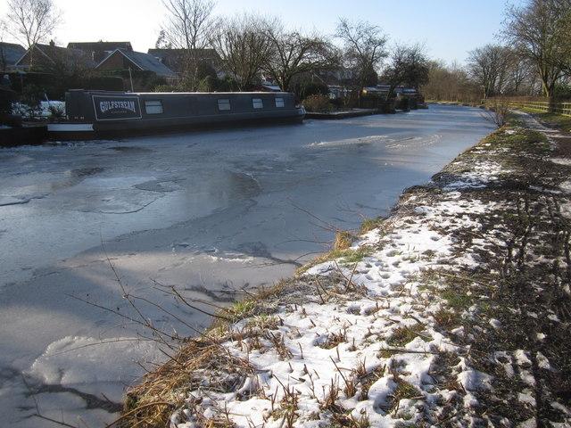 Frozen Gulfstream, Bollington