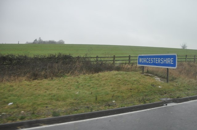 Wychavon : Worcestershire County Sign