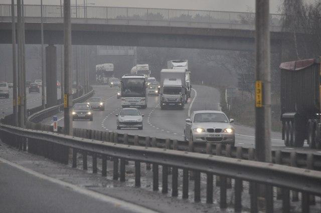 Wychavon : The M5 Motorway