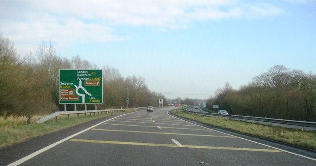 B3006, A3 roundabout