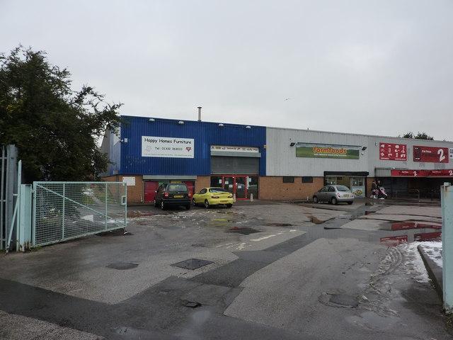 Small shopping park, Osmaston Road