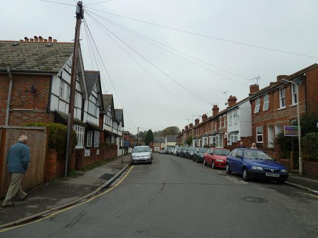 Pedestrians in Chester Street