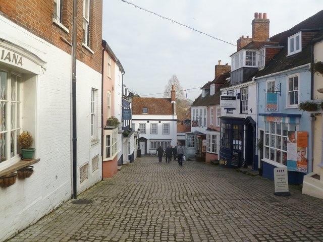 Lymington, Quay Hill