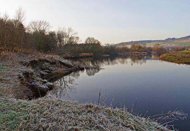 River Earn near Dunbarney