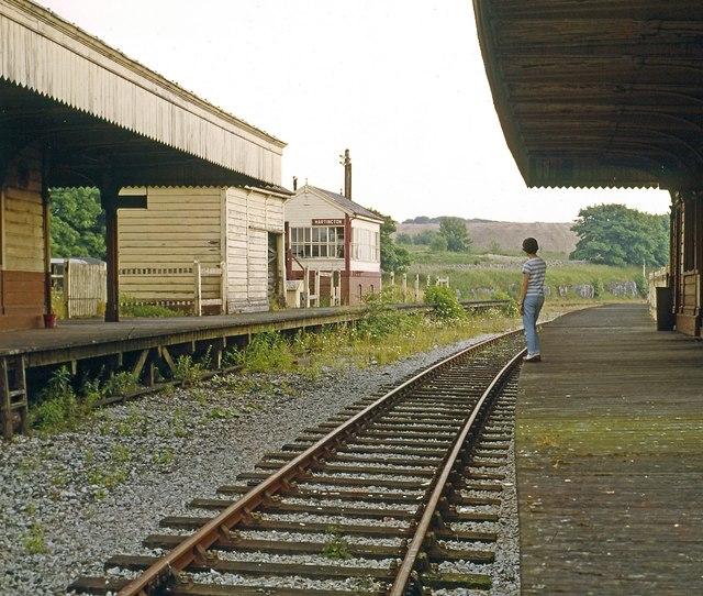 Hartington Station looking south 1967
