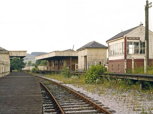 Hartington Station looking north 1967