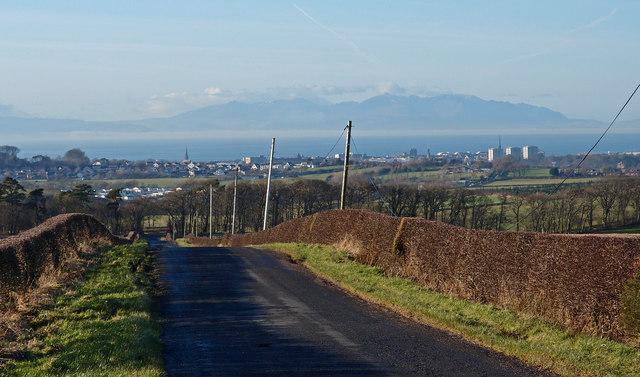 Minor Road near Wee Macnairston