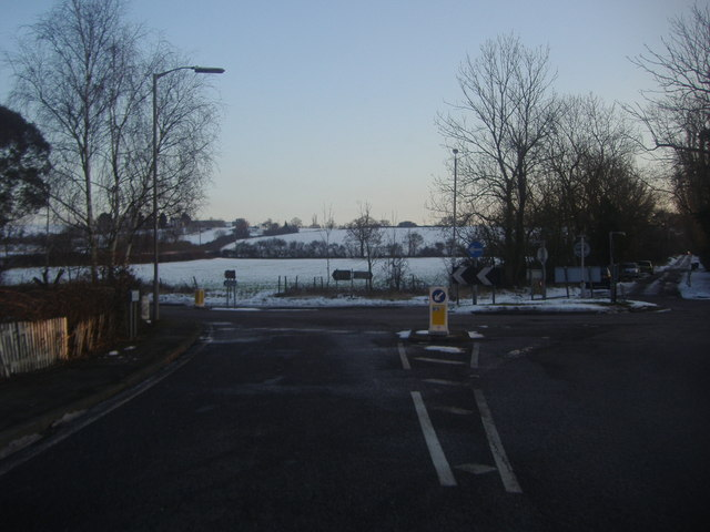 Junction of Middle Street and Nazeing Common Road