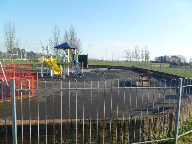 Lymington, children's play area