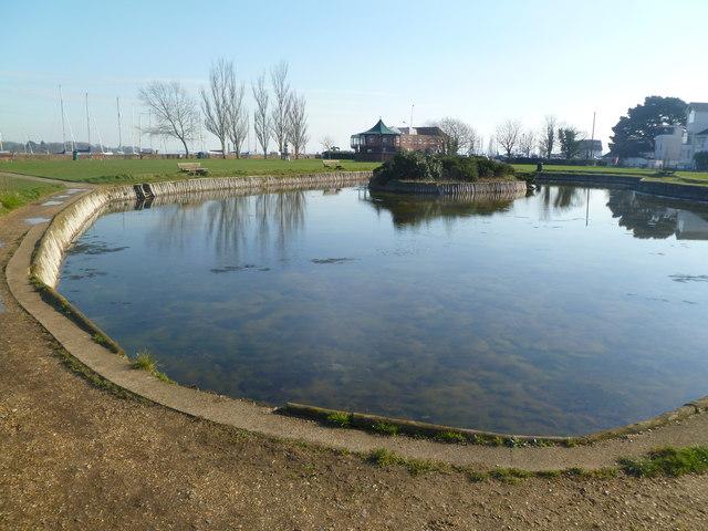 Lymington, pond