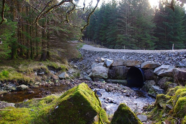 New forestry infrastructure towards the head of Glencripesdale