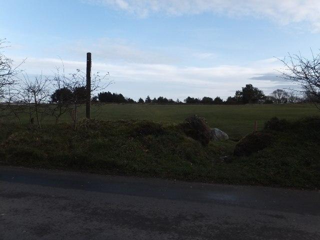 Footpath across Teignmouth Golf Club