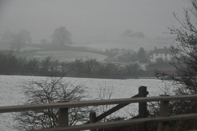 Bromsgrove : Snowy Field