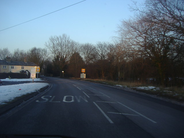 Entering Broadley Common on Nazeing Common Road