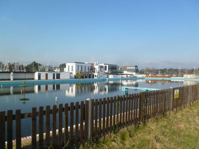 Lymington Seawater Pool