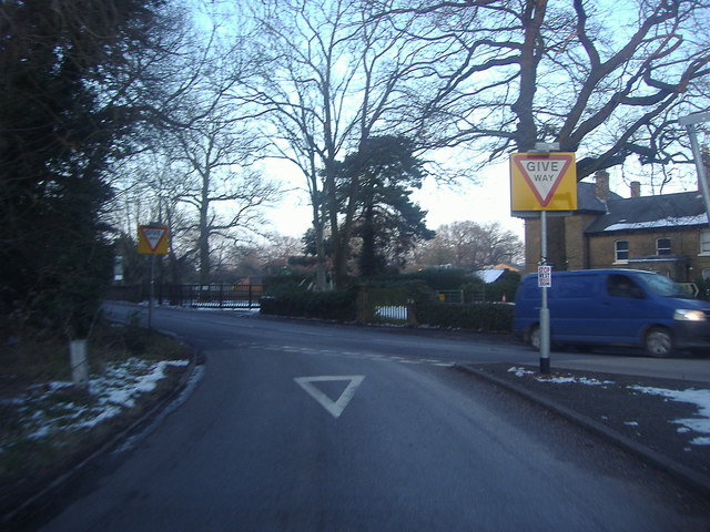 Junction of Common Road and Kenner's Lane