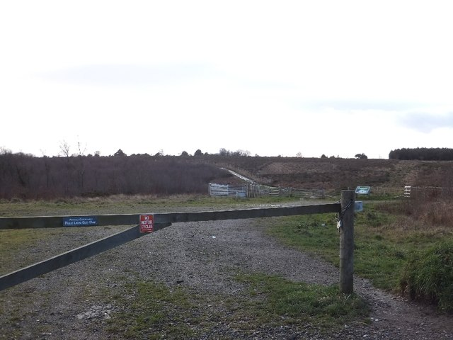 Track onto Ideford Common