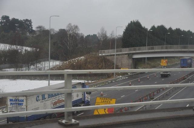Bromsgrove : The M5 Motorway