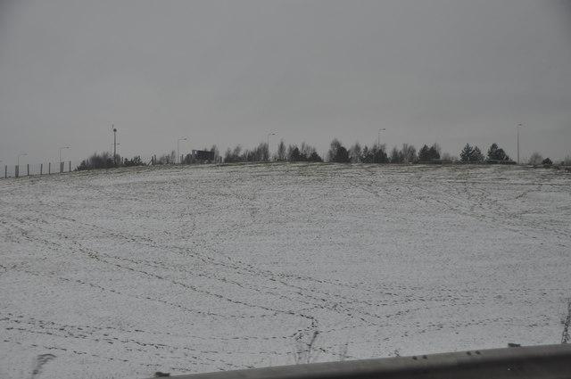 Bromsgrove : Snowy Hillsides
