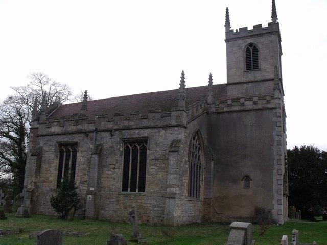 St Peter's church, Doddington