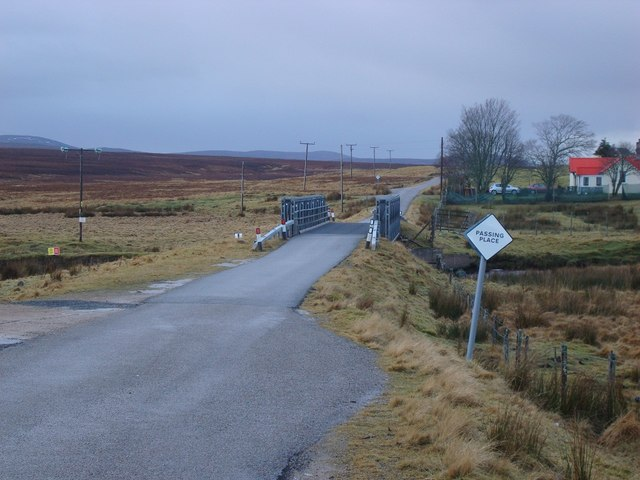 Bridge on the B871 at Kinbrace