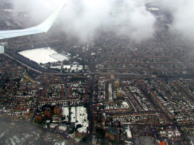 Eltham from the air