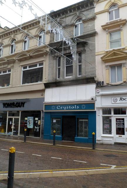 Crystals, High Street, Newport