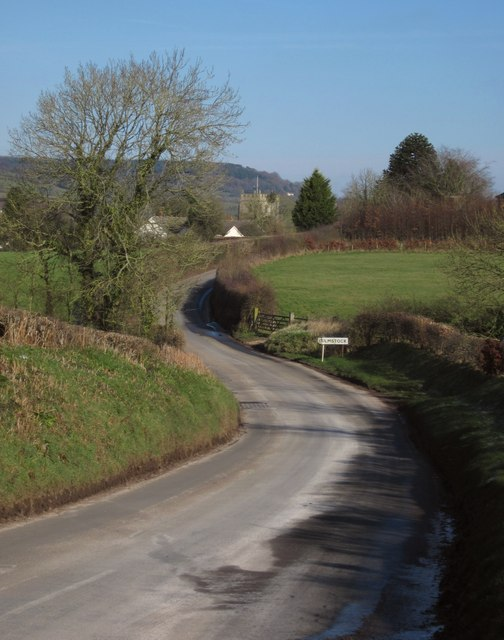 Approaching Culmstock