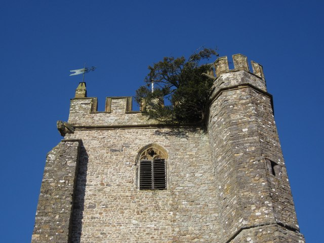 Church tower, Culmstock