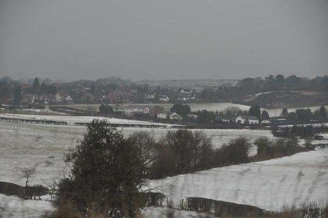 Bromsgrove : Snowy Fields & Scenery