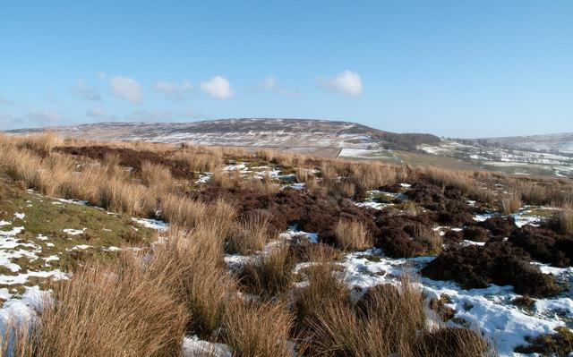 Moorland near Gaping Stone