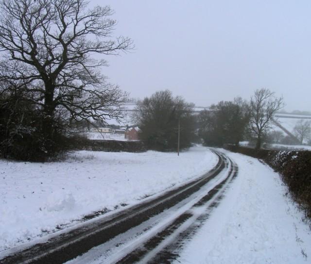 Braunston Road towards Braunston-in-Rutland