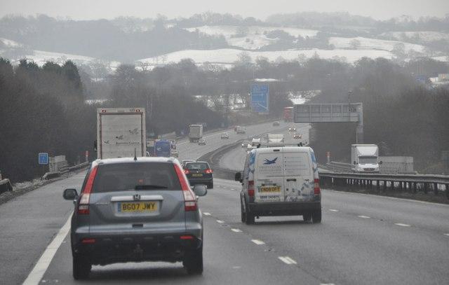 Bromsgrove : The M42 Motorway