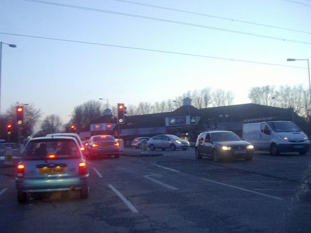 Brookfield Retail Park from Halfhide Lane