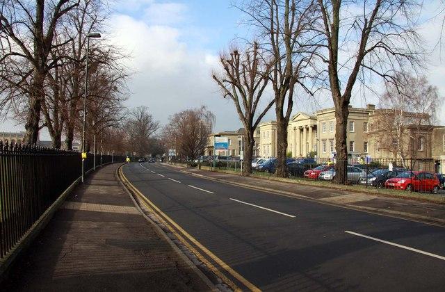 Sandford Road in Cheltenham