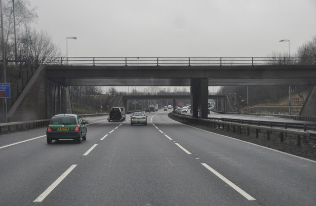 Solihull : The M42 Motorway