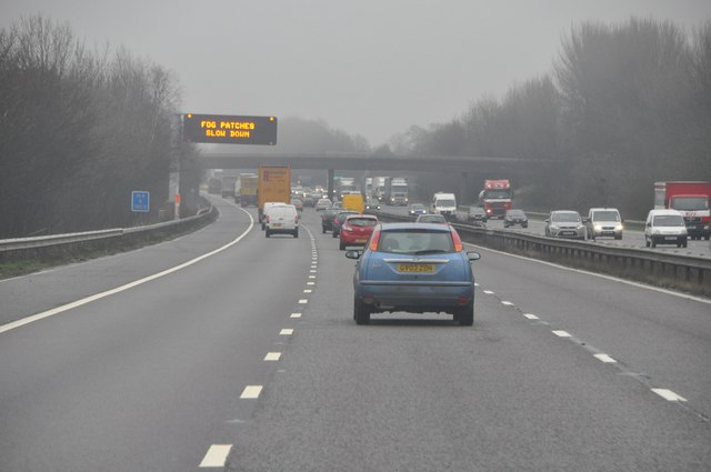 North Warwickshire : The M6 Motorway