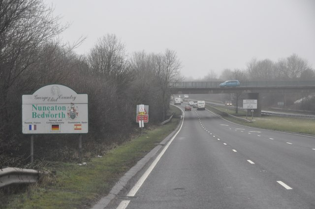 Nuneaton and Bedworth : A444 Dual Carriageway