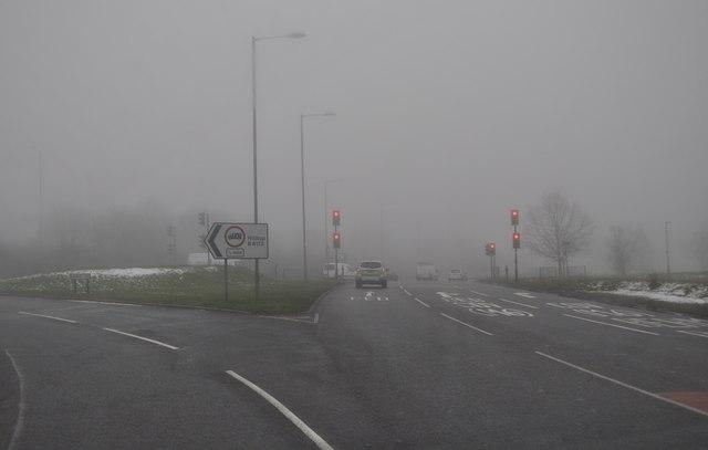 Nuneaton : Griff Roundabout