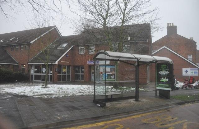 Nuneaton : A444 Coton Road Bus Stop