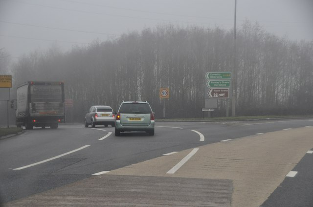 Nuneaton and Bedworth : A444 Road Junction