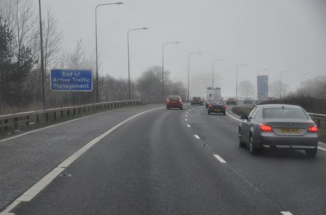 Stratford-on-Avon : The M42 Motorway